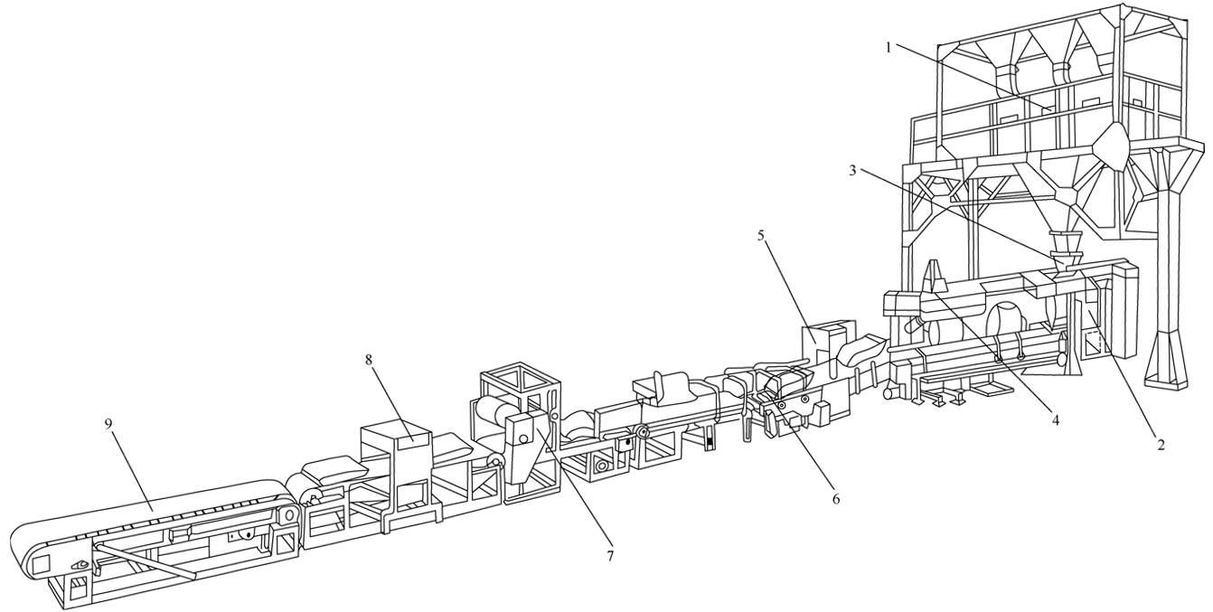 全自动化装配组装生产线