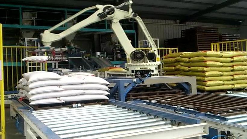 面粉行业自动搬运机器人的应用